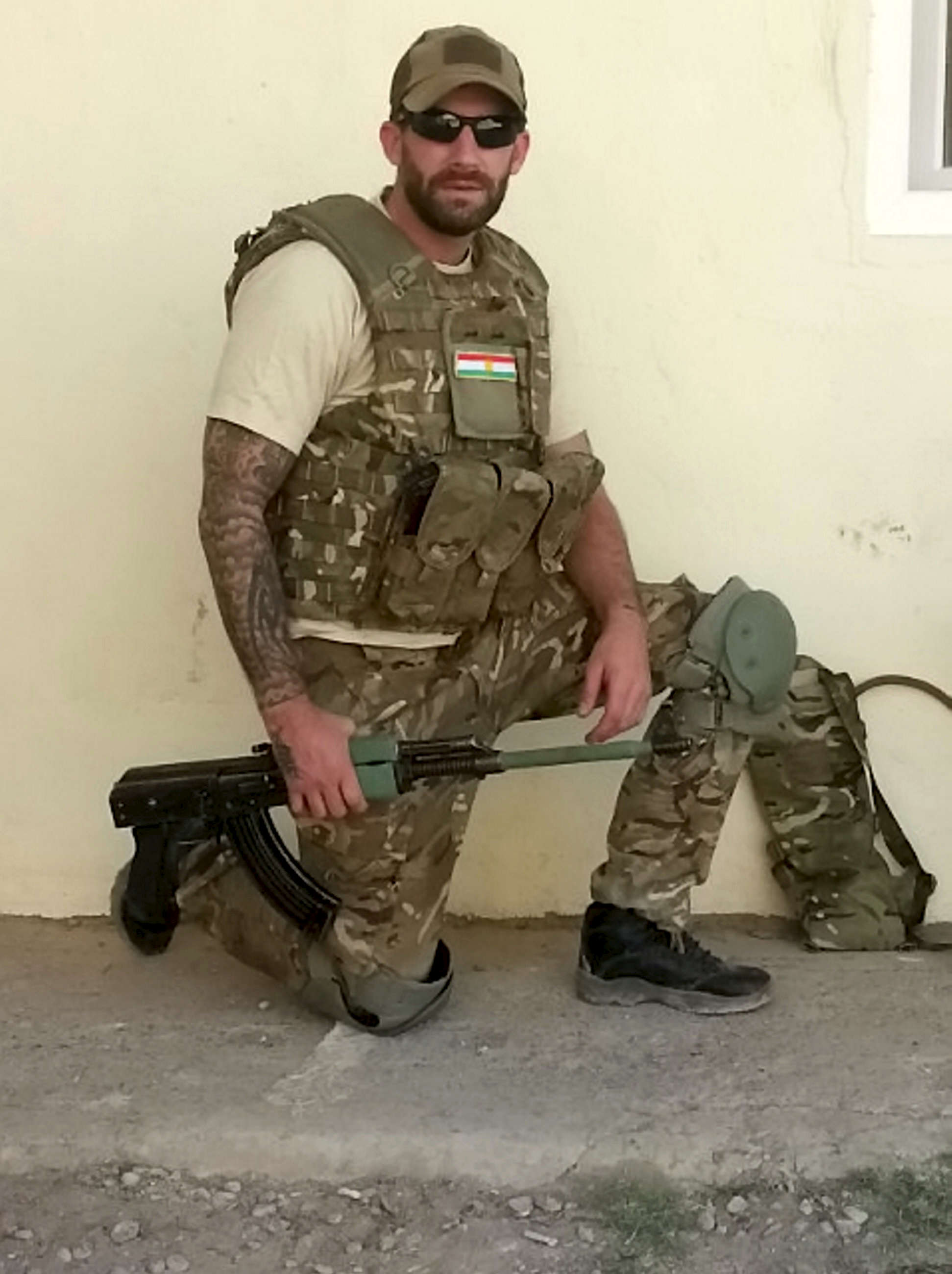 Story Of Ex Soldier Arrested When He Returned To UK From Fighting ISIS SWNS ISIS SOLDIER 01