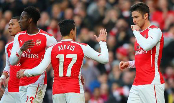 Five Arsenal Players Who Can Give Them Hope Against Barcelona Sanchez Giroud