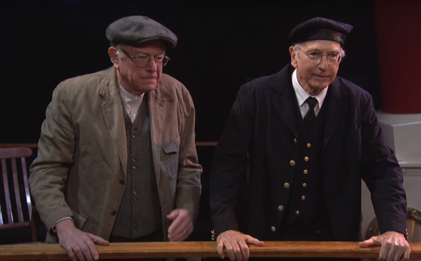 Bernie Sanders And Larry David Poke Fun At His Socialist Beliefs On SNL Screen Shot 2016 02 07 at 8.20.40 AM