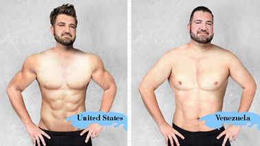 Heres What The Ideal Male Body Looks Like In Different Countries Screen Shot 2016 02 18 at 19.47.55