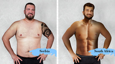 Heres What The Ideal Male Body Looks Like In Different Countries Screen Shot 2016 02 18 at 19.48.04