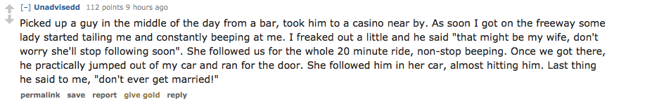 Uber Drivers Share Their Horror Stories On Reddit Screen Shot 2016 02 25 at 18.02.28