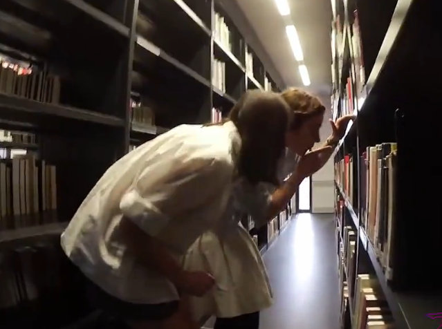 Students Secretly Record Lesbian Porn Film In University Library Screen Shot 2016 02 26 at 09.56.06