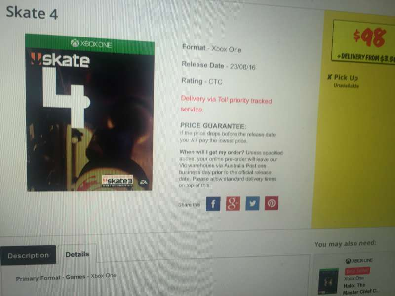 Skate 4 Could Be A Reality As Leaked Image Surfaces Skate
