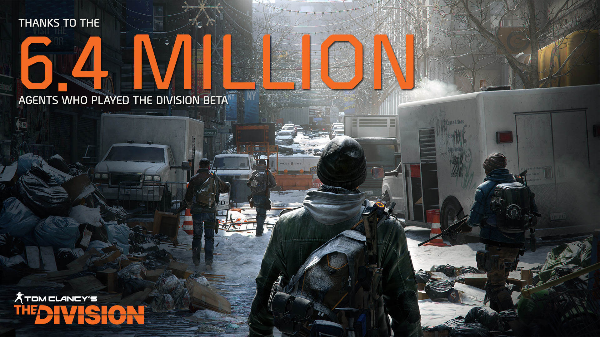 The Division Breaks Beta Record With Over Six Million Players TCTD Beta Results 239629