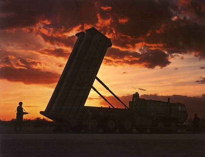 U.S. And South Korea Practice Invading North Korea In Massive Drill THAAD Launcher