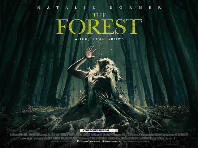 Our Spine Tingling Review Of The Horror That Is The Forest The Forest poster 1