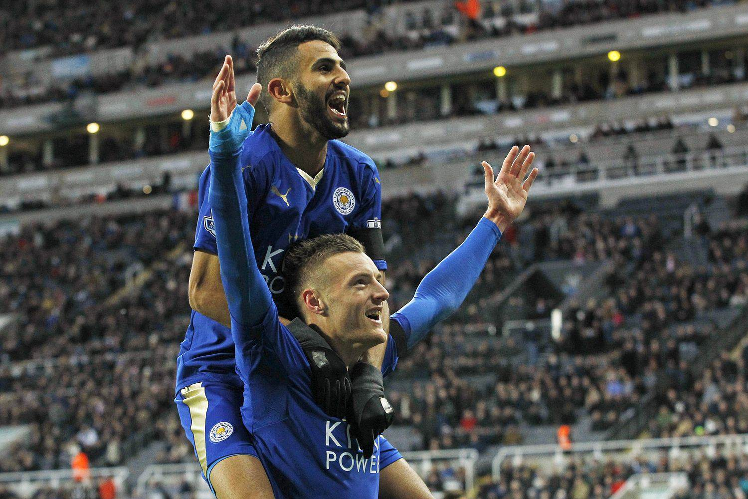 Five Reasons Leicester City CAN Win The Premier League Vardy Celebration 1