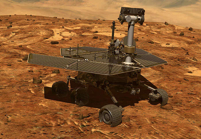 NASA Mars Rover 'Spots First Signs Of Ancient Aliens'
