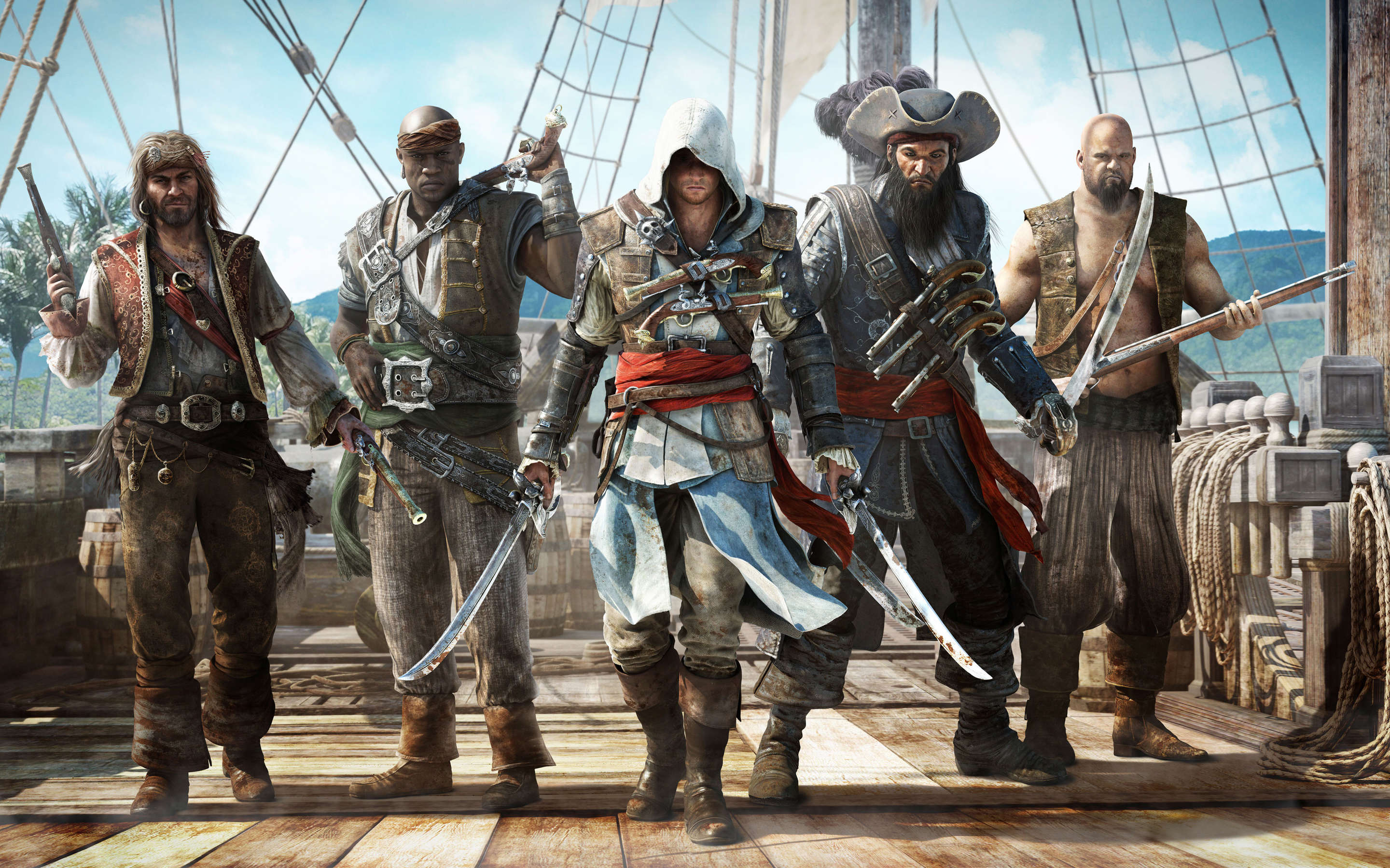 Major Pirating Group Take A Year Off To Evaluate Impact On Sales assassins creed pirates