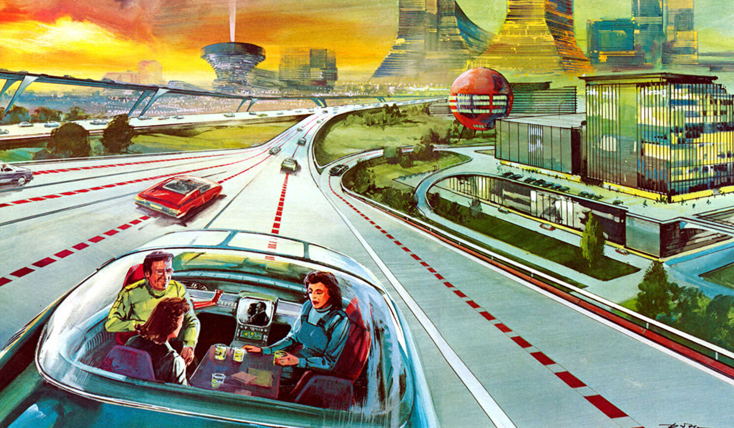 Well All Be Living Like Millionaires By 2050, Apparently autopilot