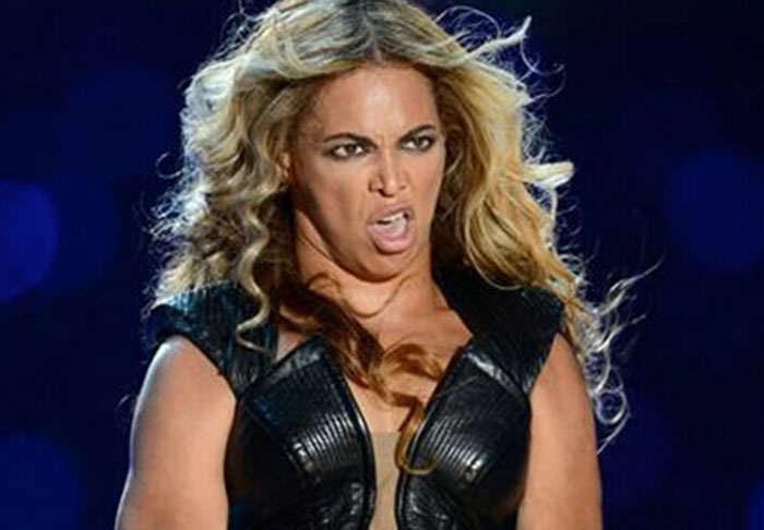 How Beyonce's Face Stole The Superbowl Half-Time Show, Again