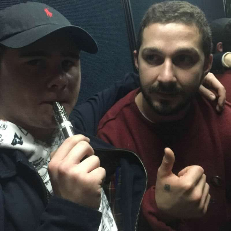 Shia LaBeouf Hit Student During His 24 Hour Elevator Ride In UK caad3808d9b4e3ecbef8d4a210f9ec82