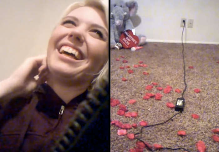 Girl Thinks Shes Getting Valentines Day Surprise, Gets Brutally Dumped Instead cheat 1