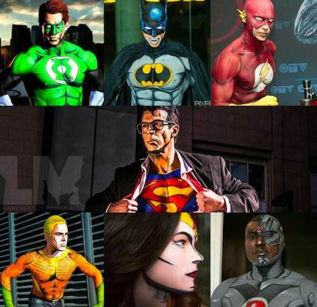 Artist Recreates Superheroes Using Body Paints And Theyre Incredible comic1