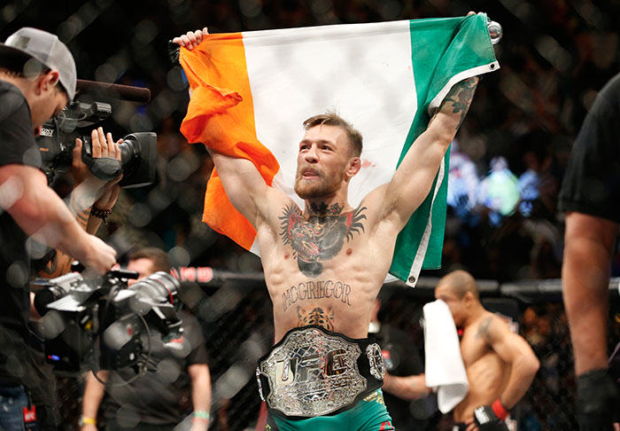 Conor McGregor Has Simple Message For New Opponent Nate Diaz conmc1