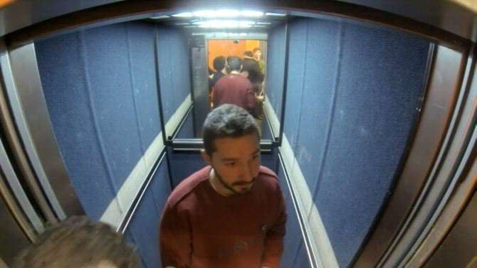 Shia LaBeouf Hit Student During His 24 Hour Elevator Ride In UK elevate
