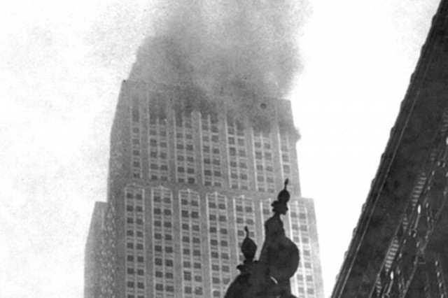 Not Many People Know A Bomber Once Crashed Into Empire State Building