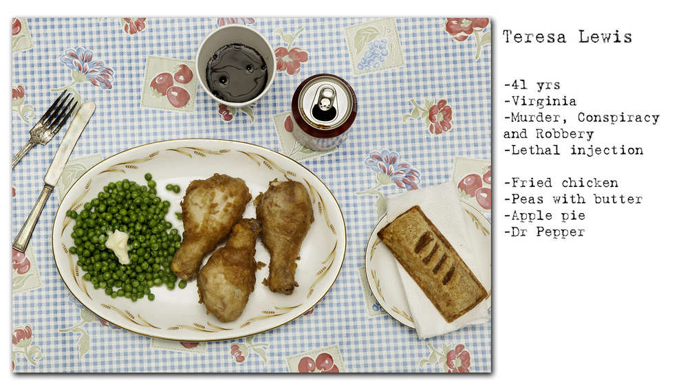 Photographer Recreates The Last Meals Of Infamous Death Row Prisoners enhanced buzz wide 17851 1392714338 8