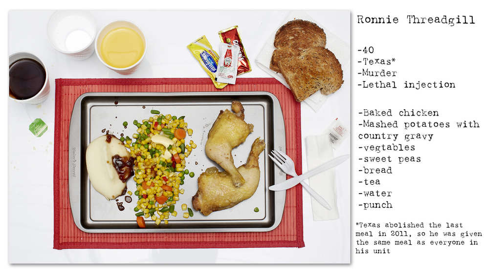 Photographer Recreates The Last Meals Of Infamous Death Row Prisoners enhanced buzz wide 27135 1392714005 13