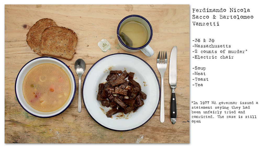 Photographer Recreates The Last Meals Of Infamous Death Row Prisoners enhanced buzz wide 30932 1392713950 24