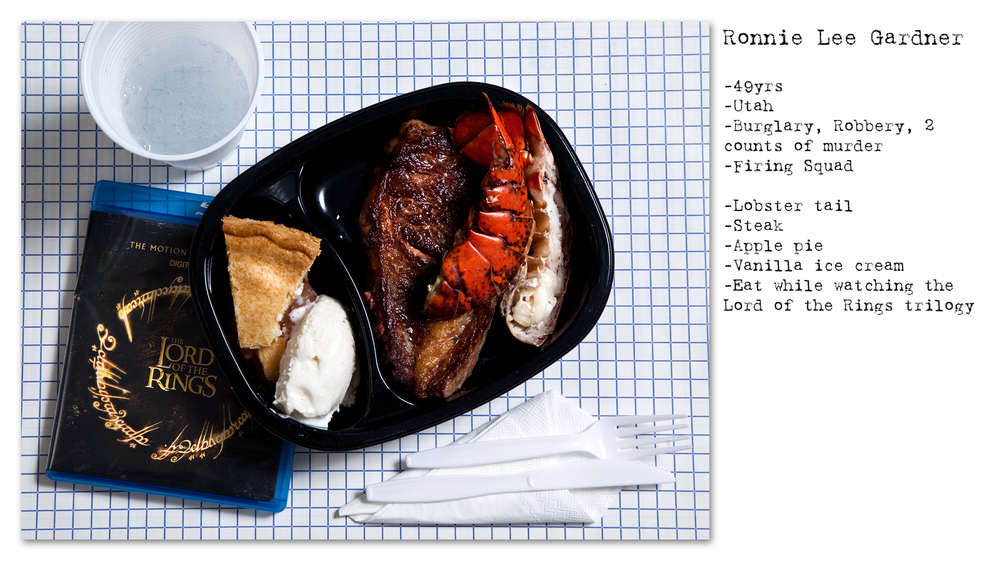 Photographer Recreates The Last Meals Of Infamous Death Row Prisoners enhanced buzz wide 9170 1392713845 21 1