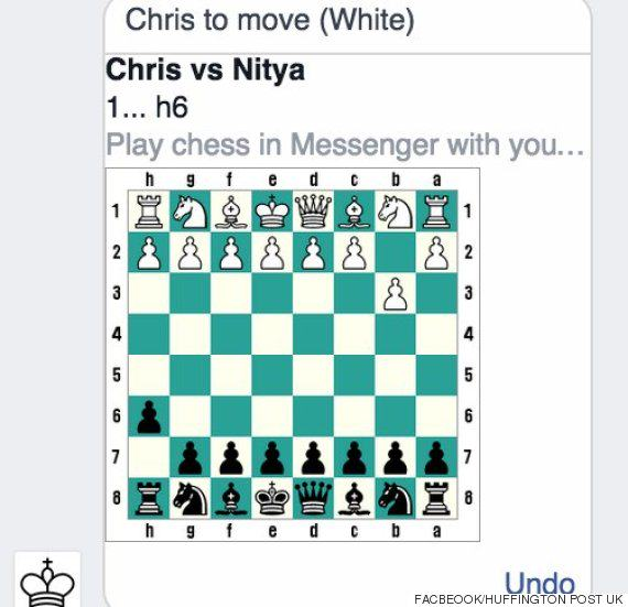 Facebook Messenger Has A Secret Game And This Is How You Play face chess 3