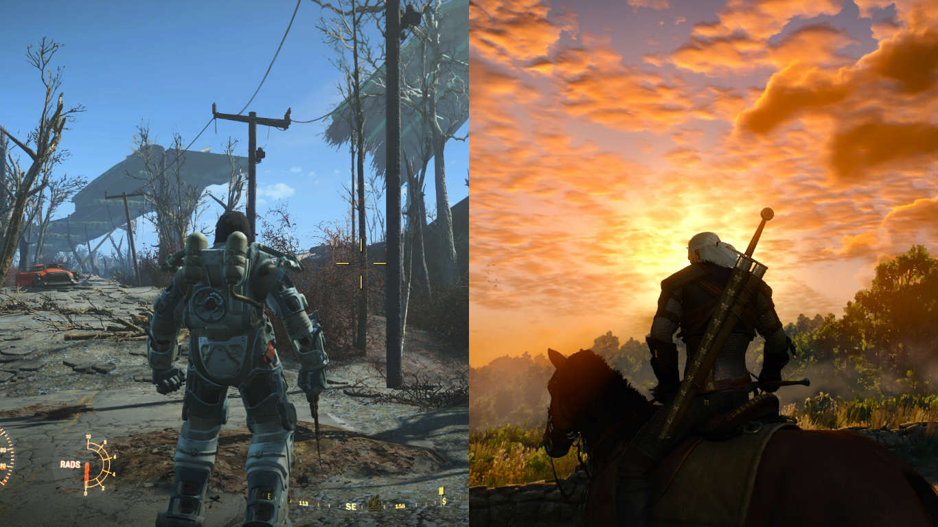 Awesome Fallout 4 Mod Brings In Gear From The Witcher 3 fallout 4 witcher 3 game of the year