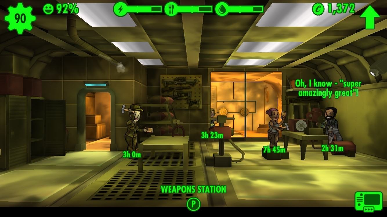 Bethesda Confirm More Mobile Games After Success Of Fallout Shelter fallout shelter emergency borrowing
