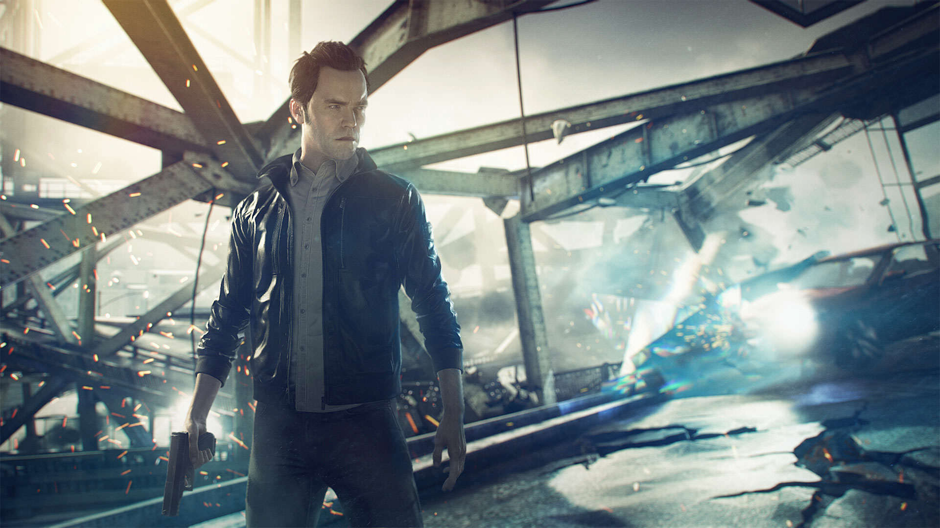See How Quantum Break Has Changed With This Cool Prototype Footage h