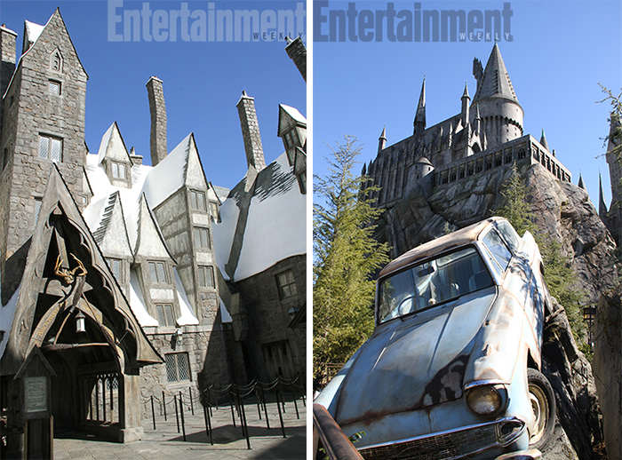First Look At The Wizarding World Of Harry Potter At Universal Studios harry potter parc 3