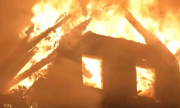 Brave Father Dies Rescuing His Infant Son From House Fire house fire 1