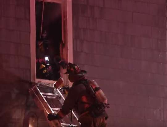 Brave Father Dies Rescuing His Infant Son From House Fire house fire 2