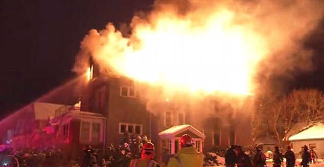 Brave Father Dies Rescuing His Infant Son From House Fire house fire 4