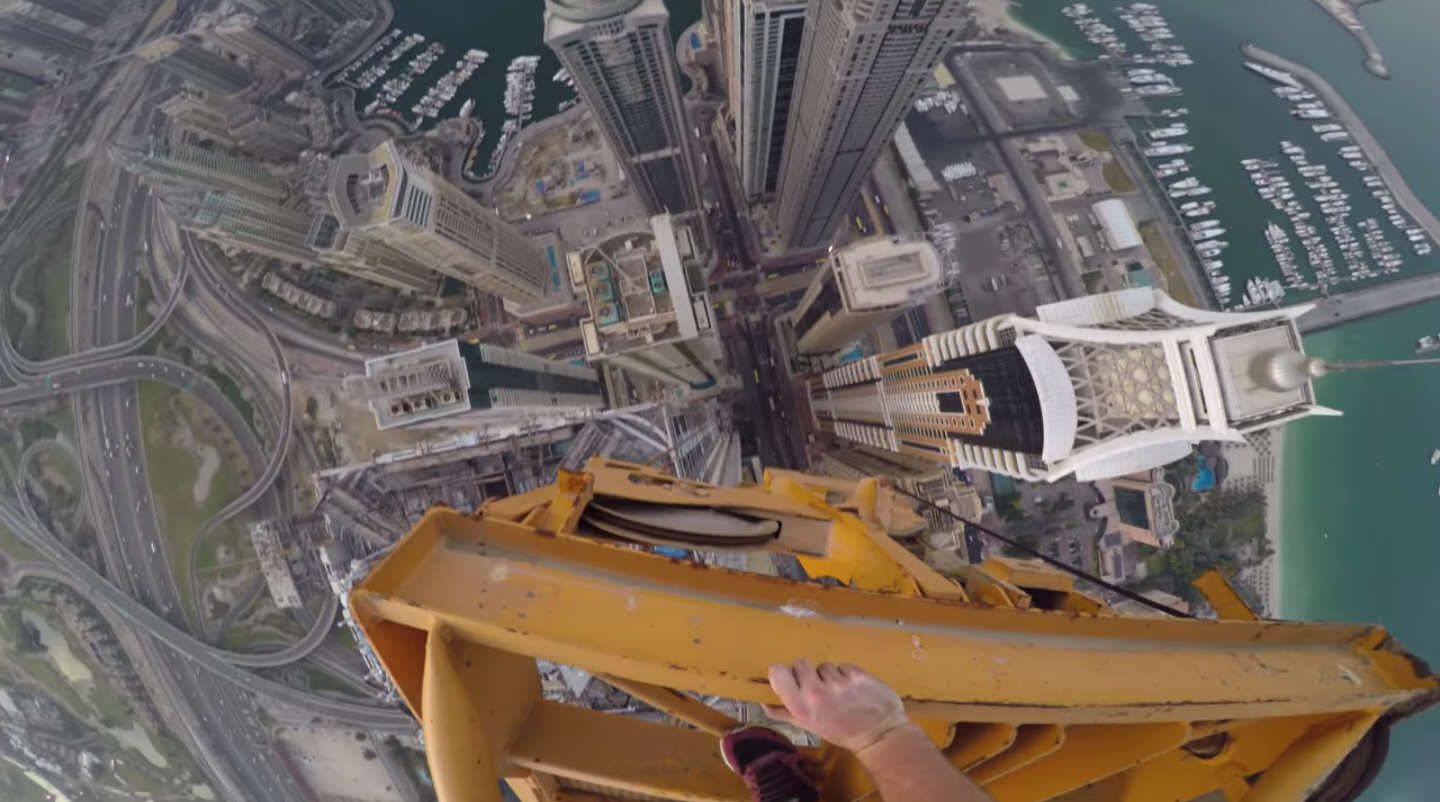 James Kingston Climbs The Worlds Tallest Residential Building jamesss