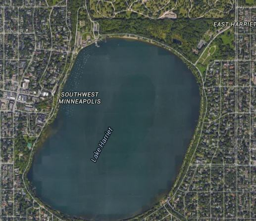 Mystery Of Perfectly Intact Plane At Bottom Of Lake Solved lake harriet1
