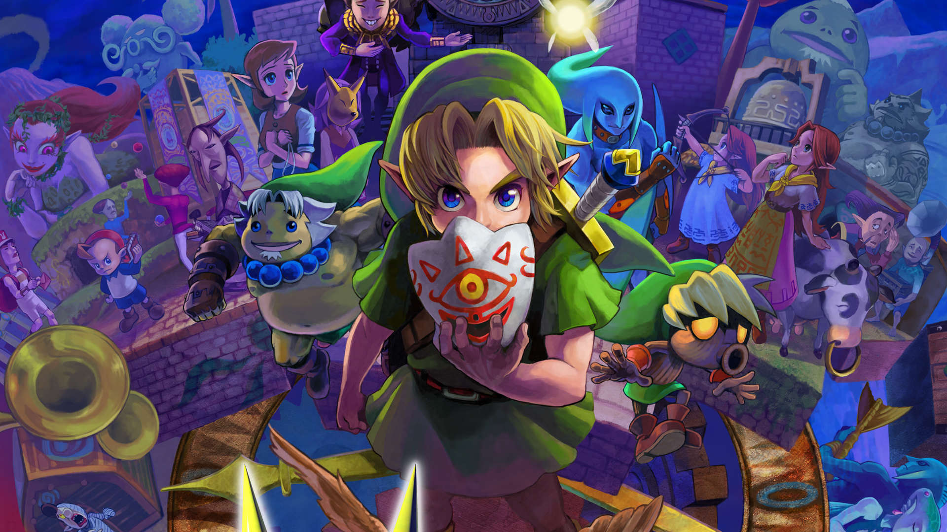 The Ten Greatest Zelda Games Of All Time legend zelda majoras mask