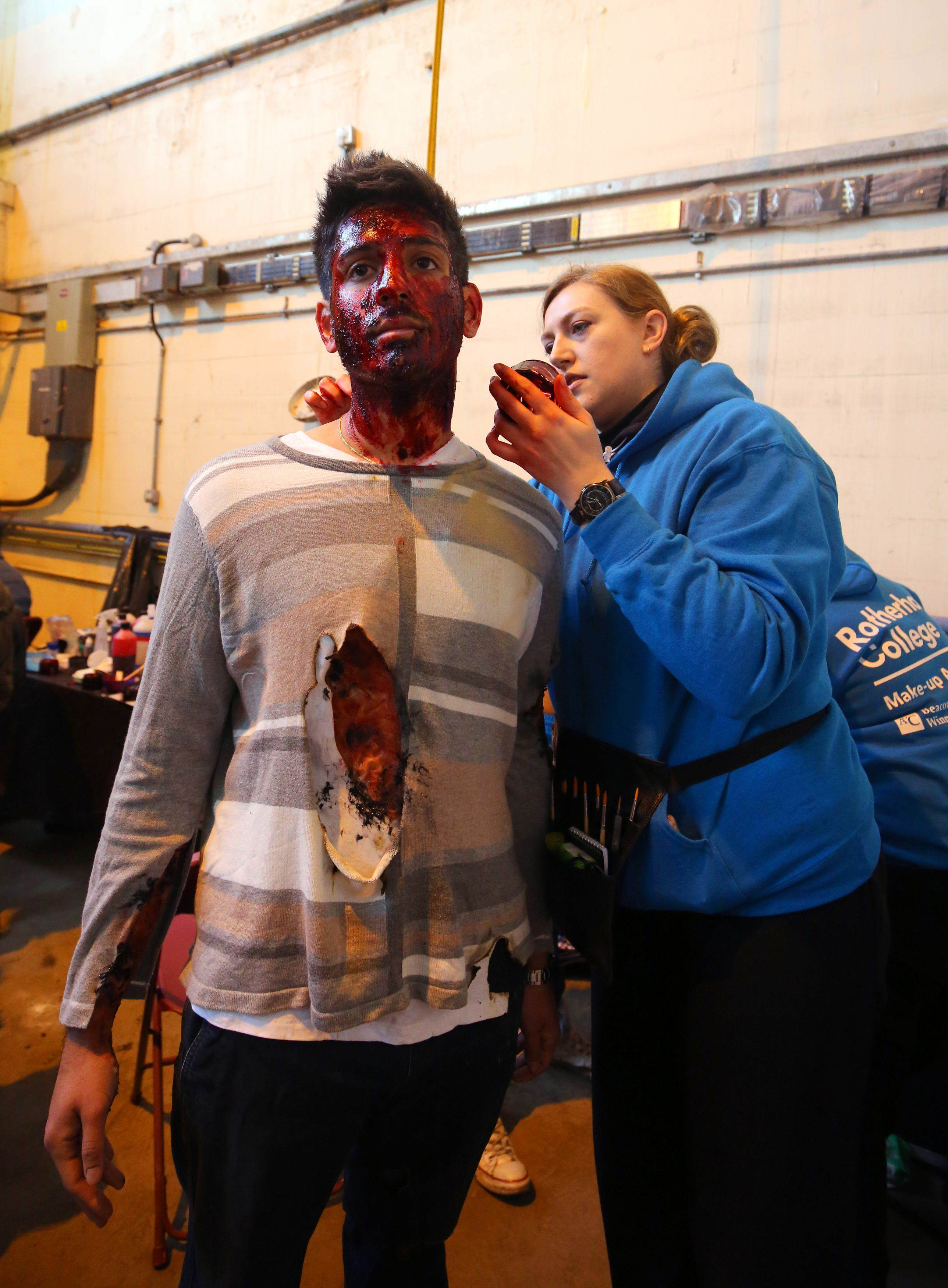 Europes Biggest Ever Disaster Simulation Is Truly Terrifying makeup