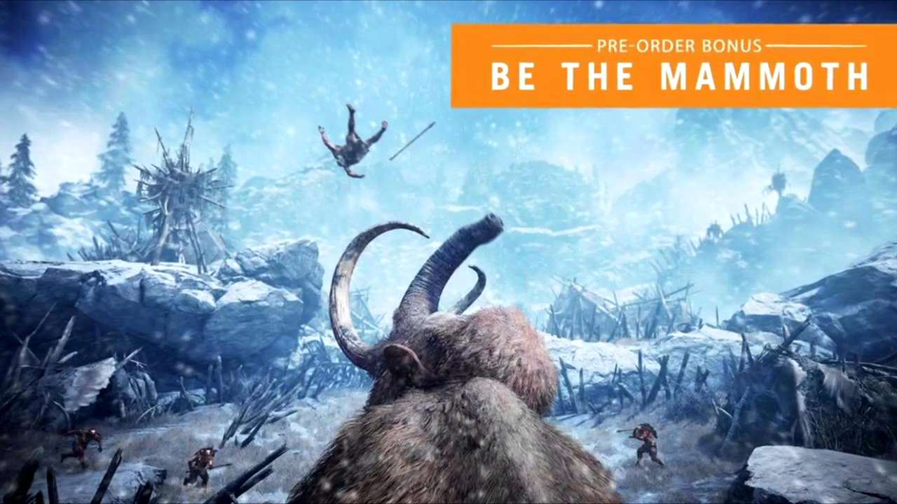 First Person Mammoth Gameplay In New Far Cry Primal Trailer maxresdefault 1 11