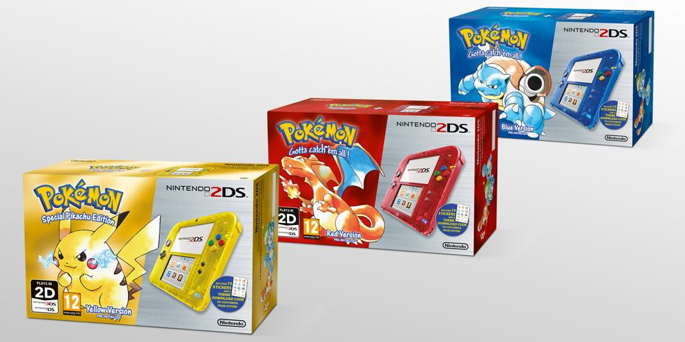 Pokemon Re Release Gets New Nostalgia Fuelled Advert pokemon 2ds console