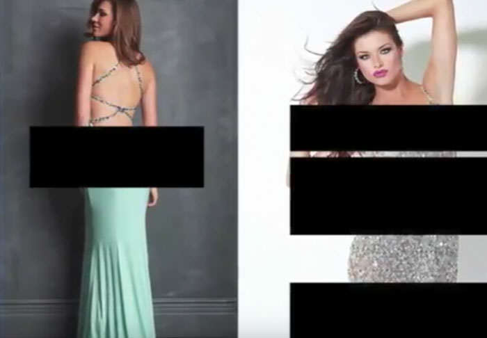 School Makes Cringeworthy Video Telling Girls Cover Up At Prom prom1 1