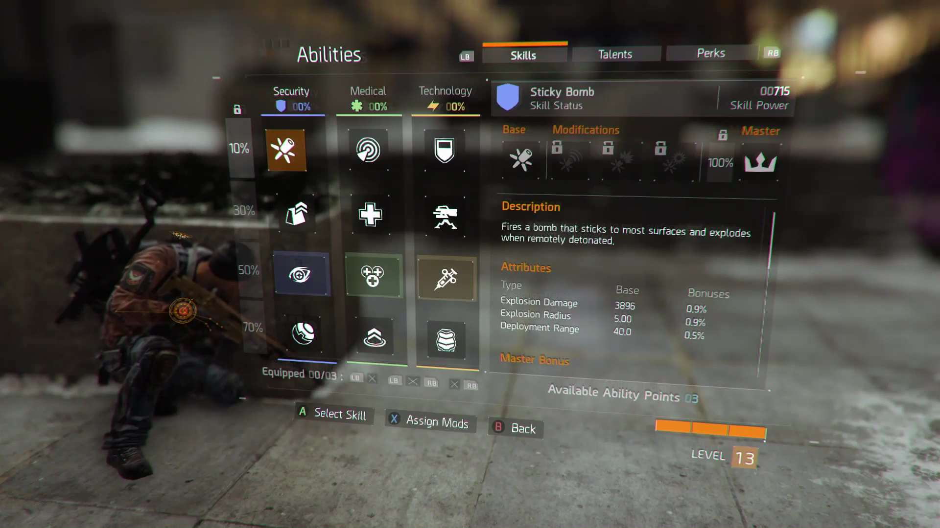 Handy New Trailer For The Division Explains The Games Skill System q a november skills menu