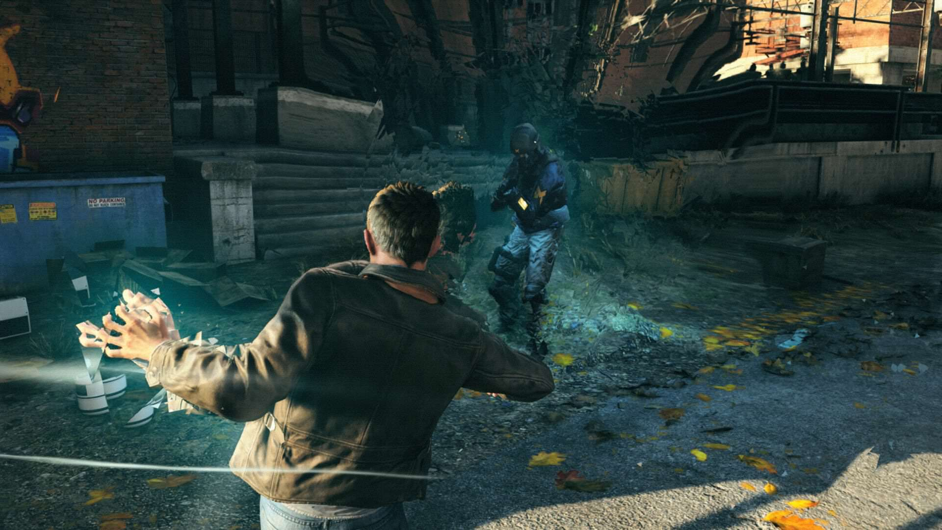 See How Quantum Break Has Changed With This Cool Prototype Footage quantum break punch.0