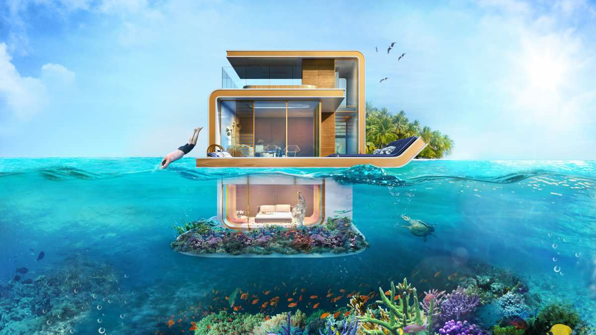 These Underwater Houses Are Absolutely Ridiculous seahorse2