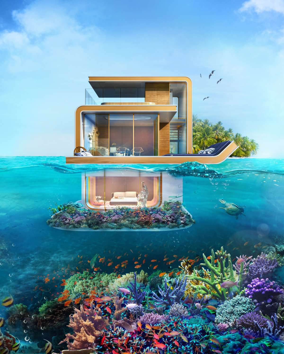 These Underwater Houses Are Absolutely Ridiculous seahorse4