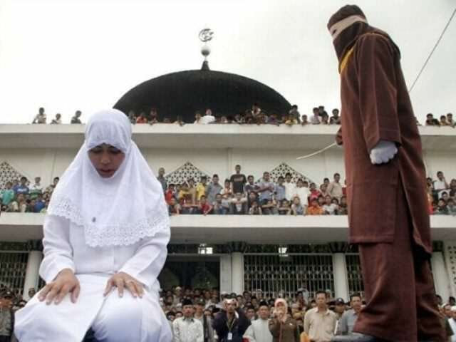 11 People Are Facing A Massive Punishment, Just For Having A Wild Party sharia caning ap 640x480 640x480