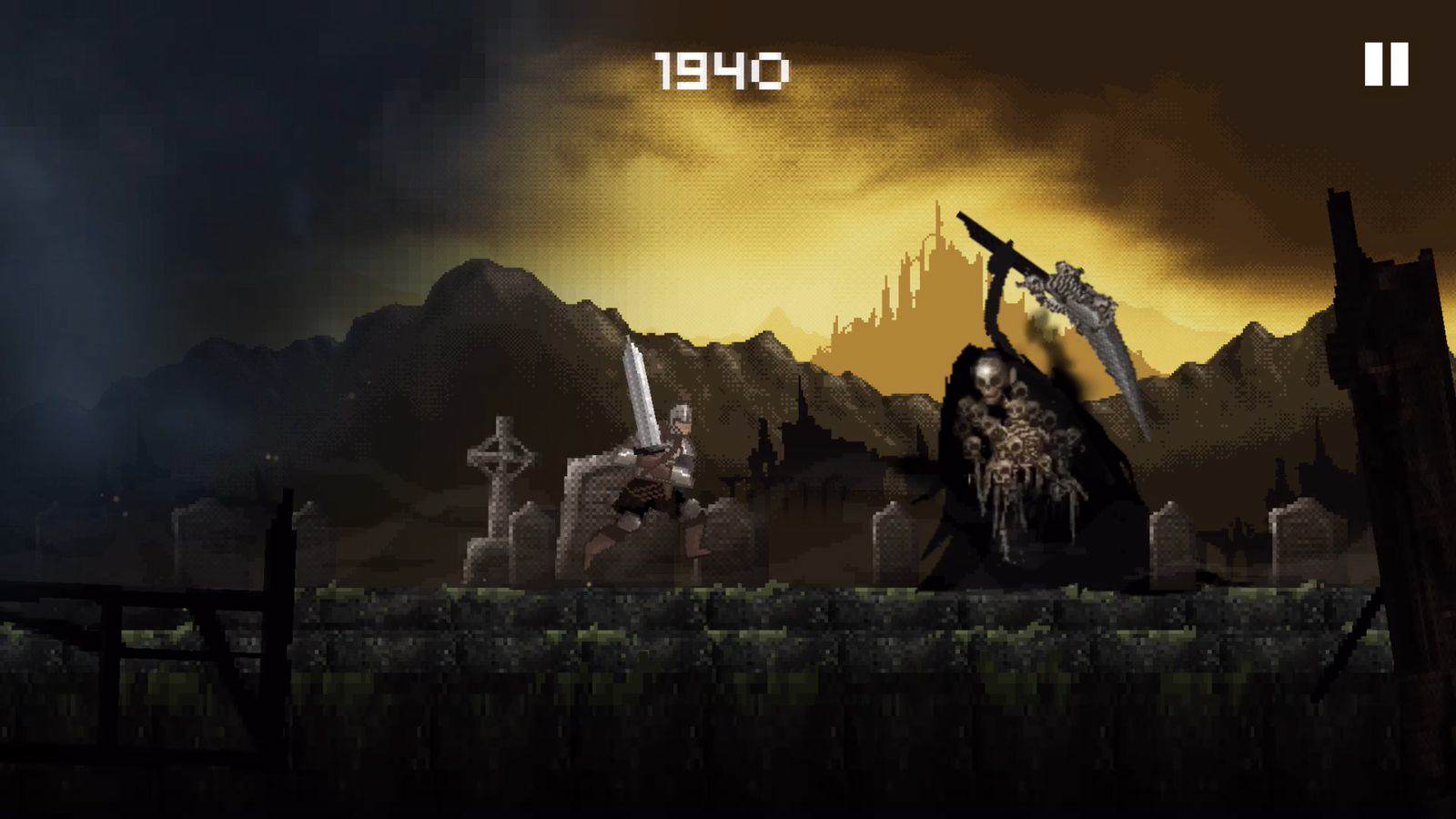 Slashy Souls Is The Mobile Spinoff Of Dark Souls Nobody Wanted slashy souls screen.0.0