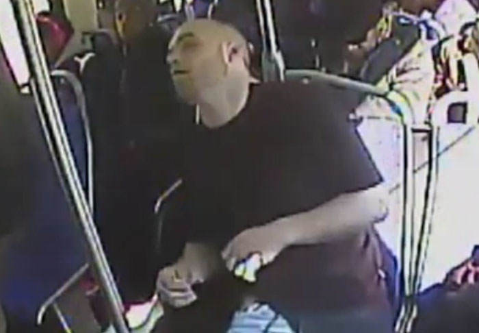 Police Release Video of Man Overdosing On Heroin On Public Bus smack1