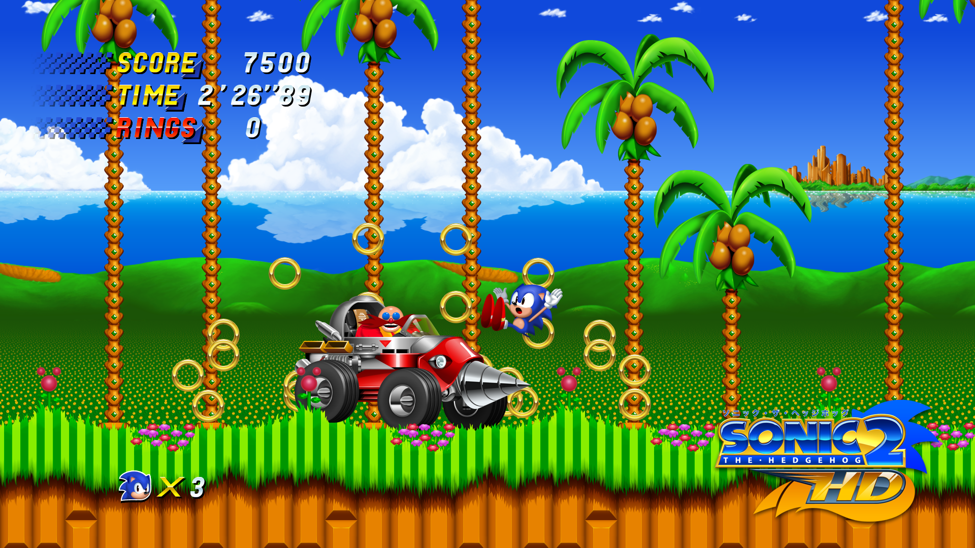 Seven Incredible Fan Remakes Of Classic Games sonic the hedgehog 2 hd screenshot 5f19abc9