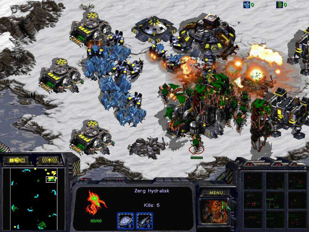 Five Of The Greatest Space Strategy Games starcraft anthology screenshot 1